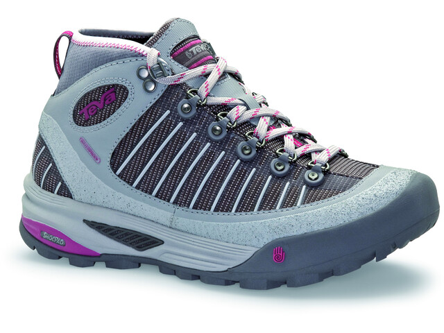 Teva Forge Pro Shoes Mid WP Women, drizzle